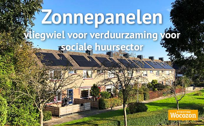 Artikel Trouw - Zonnepanelen vliegwiel verduurzaming sociale huursector