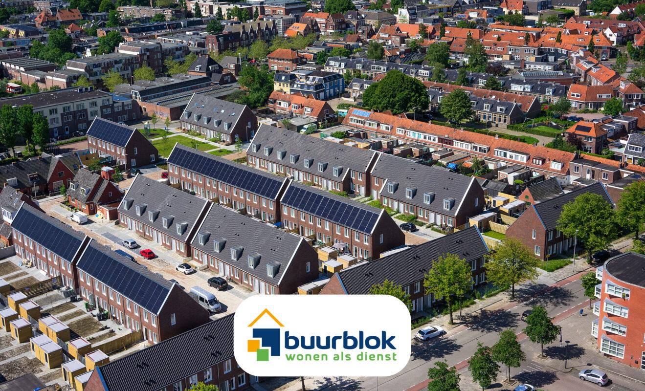 Buurblok - wonen als dienst - circulair nieuw woonconcept