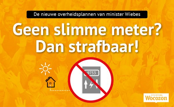 Minister Wiebes wil burgers dwingen een slimme meter te nemen