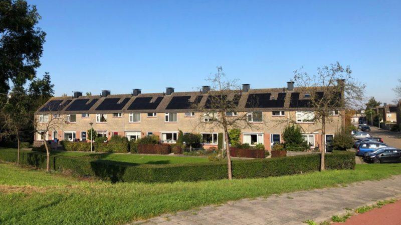 Zonnepanelen-installatie Wocozon Patrimonium Barendrecht Smitshoek