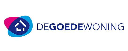 Logo Woningcorporatie De Goede Woning Zoetermeer met Wocozon zonnepanelen