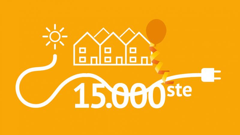 Wocozon voorziet 15.000ste woning van zonnepanelen