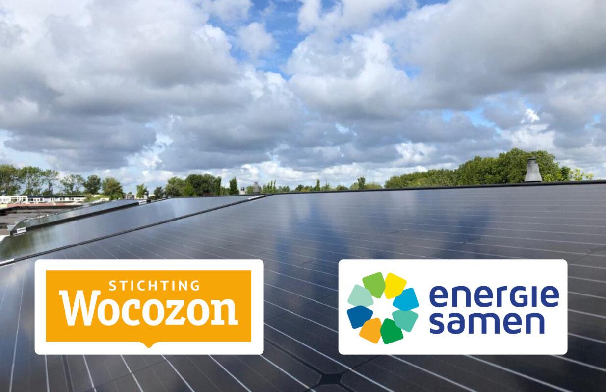 Landelijke energiecoöperatie ZonSamen, speciaal voor de sociale huursector, opgericht door Wocozon en Energie Samen
